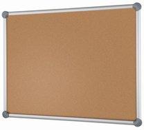 Korková tabule v hliníkovém rámu