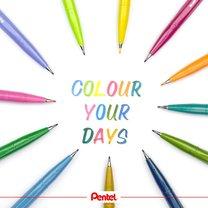 Pentel SES15 štětečkový popisovač brush sign pen