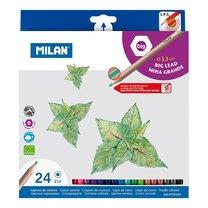 Milan 0722124 šestihranné pastelky