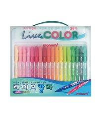 Popisovače Monami Live Color