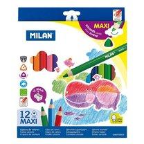 Pastelky MAXItri Milan 261 12 barev